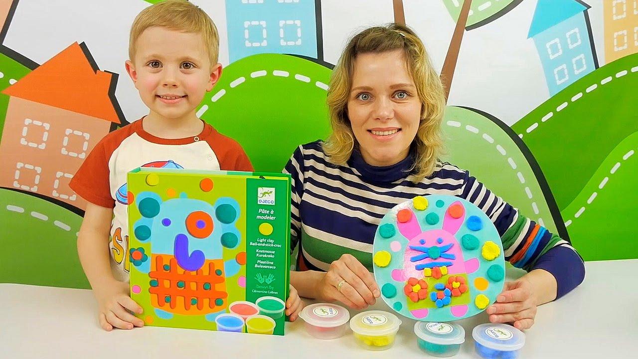 БульбаКрок творческий набор Джеко - Видео для детей с развивающими игрушками Djeco
