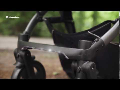 Детская коляска X-Pulse Astral Black. Видео №2
