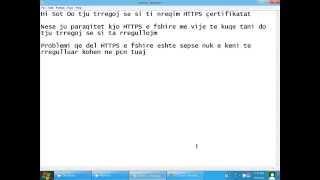 HTTPS SSL Certificates Fix Problem (HD)