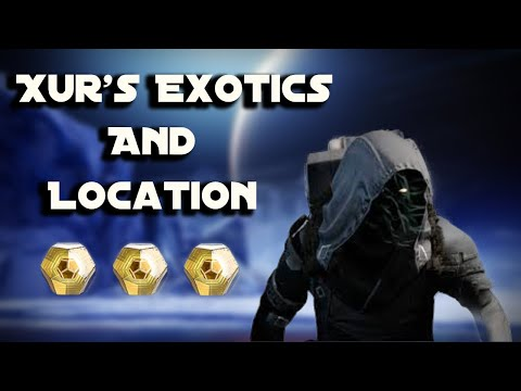 Destiny 2 XUR LOCATION STREAM! Where is Xur for June 11th?