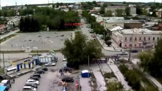 Видео с городской веб-камеры