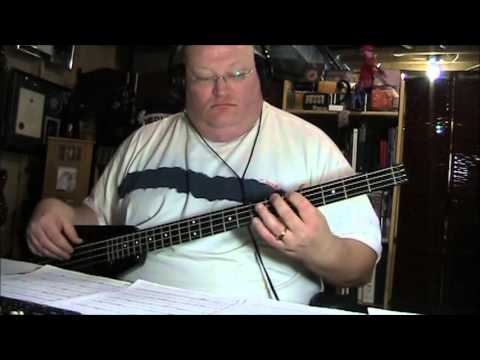 Jefferson Airplane White Rabbit Bass Cover with Notes & Tablature