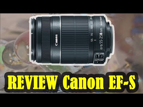 REVIEW Telephoto Zoom Lens Canon EF-S