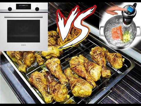 4 SAAT BEKLEMEYE DEĞER Mİ ? | Tavuk Pişirme Karşılaştırması FIRIN vs SU FIRINI (SOUS VIDE) |