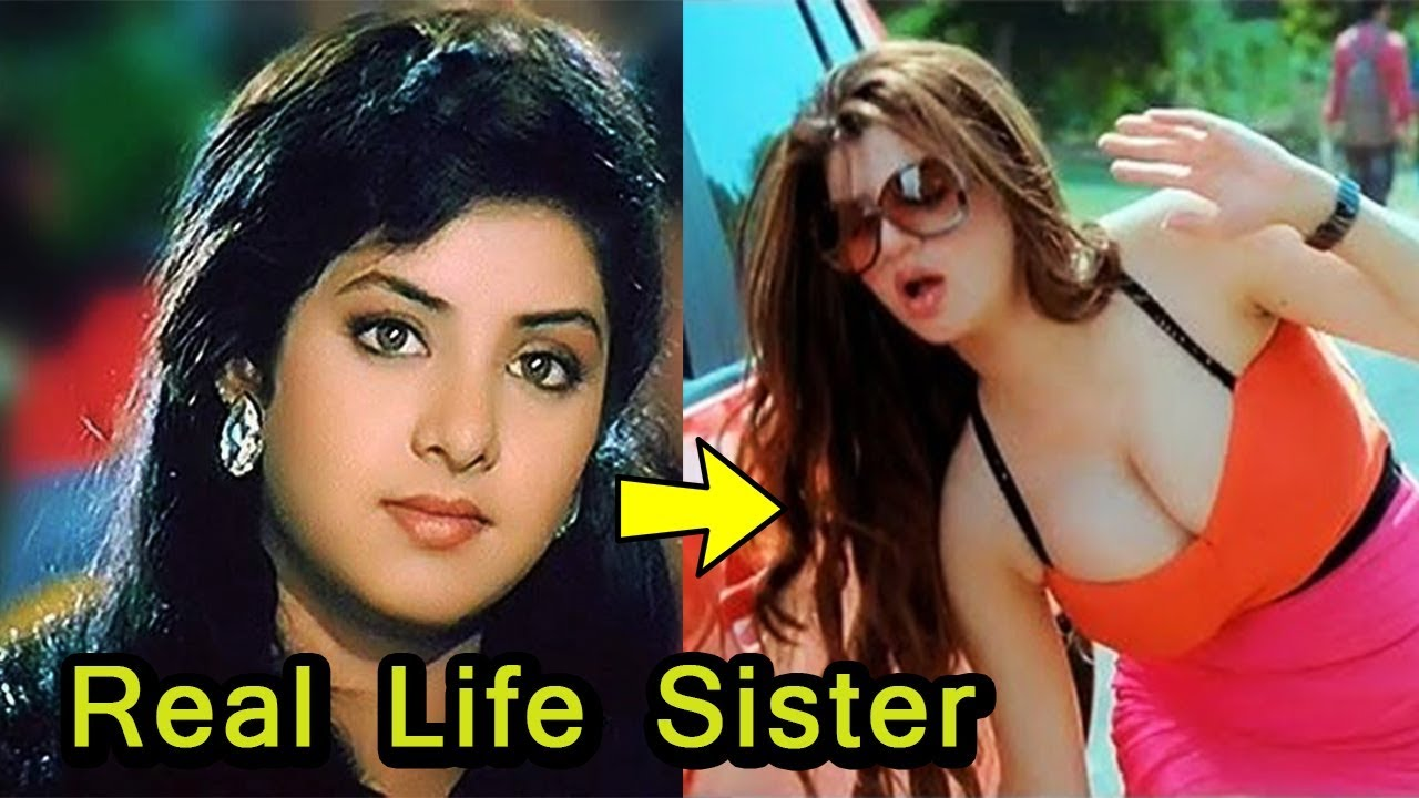 Actress Divya Bharti S Beautiful Sister Poonam Bharti