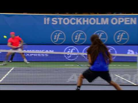 Dustin Brown Behind The Back Stockholm 2016