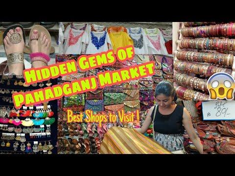 Pahadganj Market | Wholesale Price | Jewellery, bags, jutti, kolhapuri, chunni | Delhi Market Tour