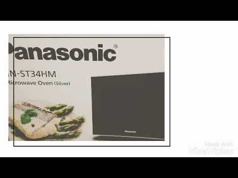 Panasonic Microwave Nn St34hm Unboxing