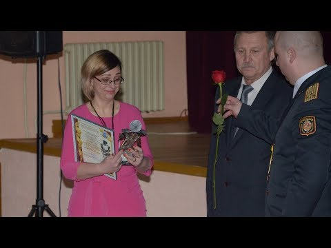 День белорусской милиции в Ганцевичах (2 марта 2019 года)