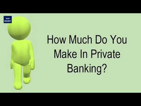 How Much Do You Make In Private Banking?