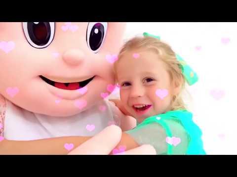Nastya E A História Para As Crianças Sobre A Amizade Com Bonecas Enormes