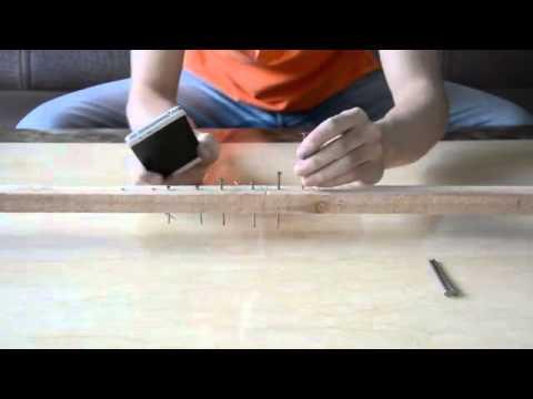 hammer nails in hardwood oukitel k4000 durability test hammer nails youtube