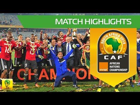 Libya - Ghana (Highlights) | CHAN Orange 2014 | 01.02.2014 | Final