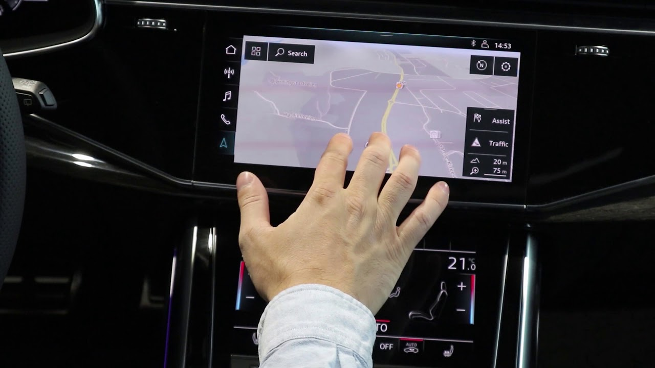 2019 Audi Q8: Audi MMi Touch Response Tour!
