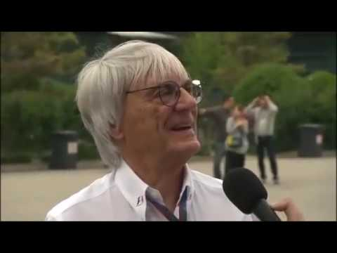 Bernie Ecclestone funny interview with Jake Humphrey