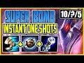 FULL MAGIC PEN SUPER BOMB! WTF? INSTANT ONE SHOTS! TOP Malphite vs Fiora Season 9 Gameplay