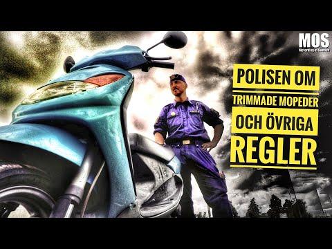 Polisen om trimmade mopeder och övriga regler