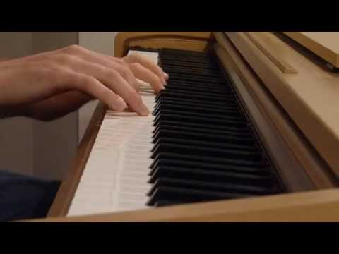 Une routine manouche ( Gipsy Piano Jazz ) with sheet music