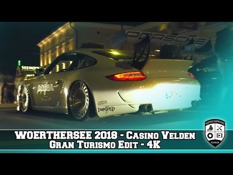 Wörthersee 2018 Gran Turismo am Casino in Velden 4K Beautiful Cars
