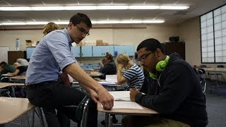 What a 'flipped' classroom looks like