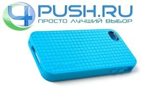 Кейс Speck PixelSkin HD для iPhone 5 и 5s голубой