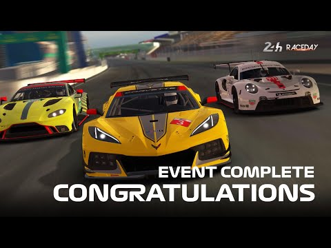 Real Racing 3 - Race Day: Le Mans 2020 Stage 4 & 5 Complete