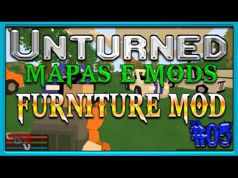 Unturned 3.0 - ATUALIZAÇÃO 3.9.9.5 & FURNITURE MOD - MAPAS E MODS #05