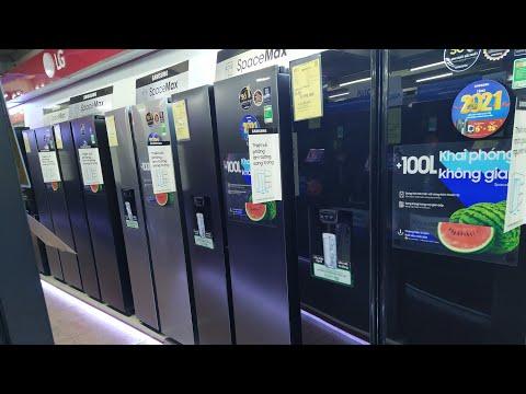 Tết 2021 đi mua tủ lạnh Side By Side 2 cửa Samsung, Aqua, Hitachi...nào giá Rẻ lại Ngon?
