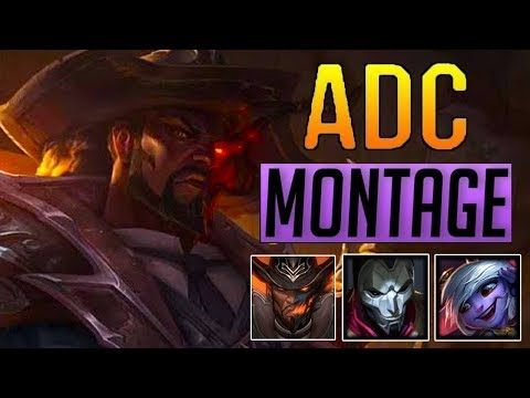 ADC Montage 17 - Best ADC Plays Compilation   League Of Legends Mid thumbnail