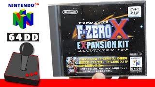 RARE F-ZERO GAMES | F-Zero X Expansion Kit - Nintendo 64DD - H4G