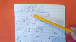 256 (в,г) Алгебра 8 класс. Постройте график функции. Гипербола