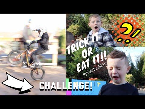 BMX Trick It OR Eat It Challenge!!!