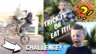 BMX Trick It OR Eat It Challenge!!!