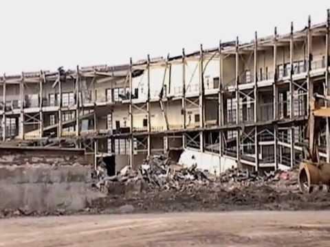 Cleveland Municipal Stadium Demolition. December, 1996.