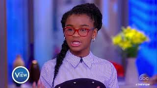 Marley Dias Talks Encouraging Kids To Read, Getting Kids Involved In Activism | The View