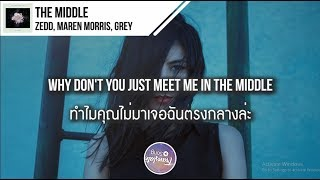 Video แปลเพลง The Middle - Zedd ft. Maren Morris & Grey download MP3, 3GP, MP4, WEBM, AVI, FLV Maret 2018