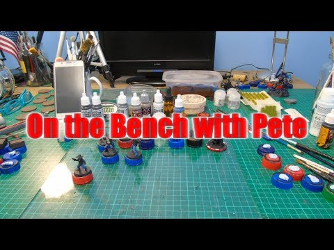 On the Bench with Pete 120 - Painting skin on the Forest Tribes