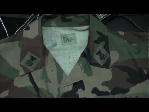 USNSCC Battle Dress Uniform (BDU) Overview