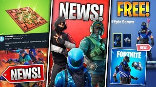 Free Skin Pack, 3 Exclusive Skins Update, v8.20 Update, Helicopter! (Fortnite News)