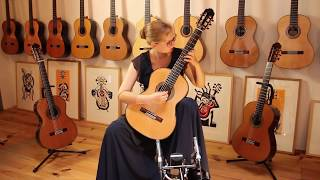 Hannelore Vander Elst plays Endecha y Oremus by Francisco Tárrega on a P. Bernabé Model 15 Spruce