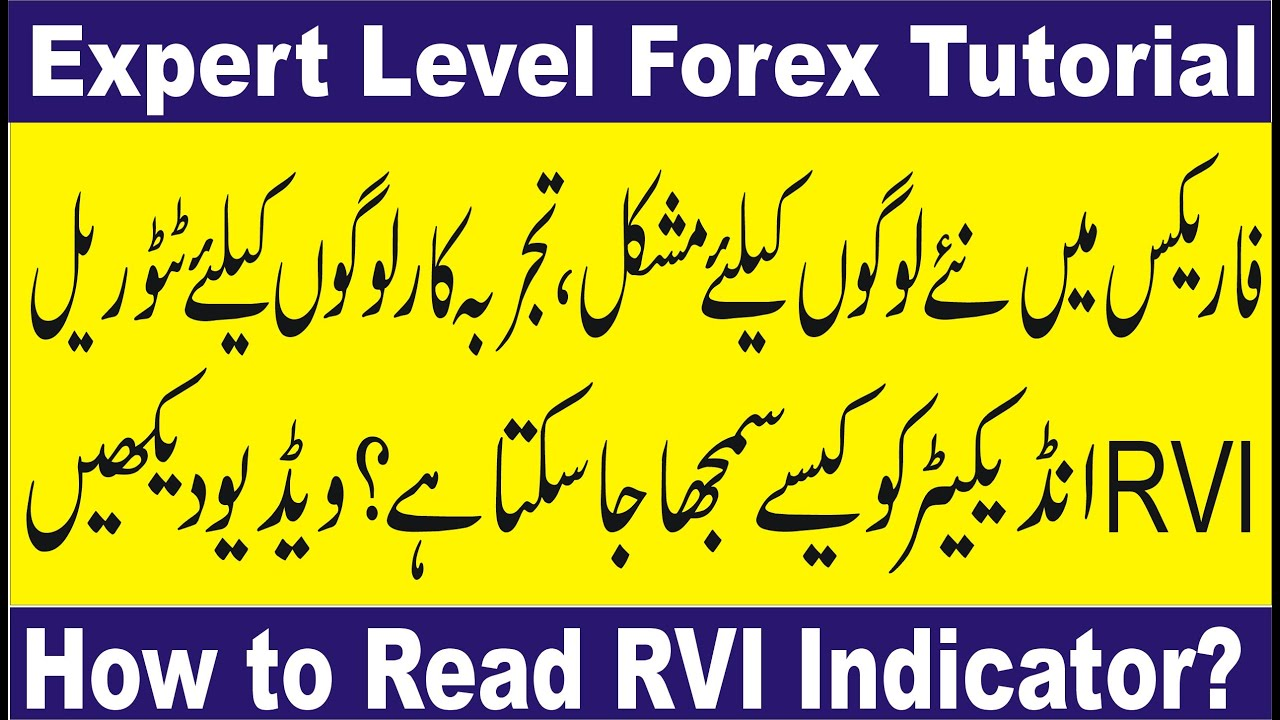 Relative Vigor Index Indicator How To Read Tani Professional