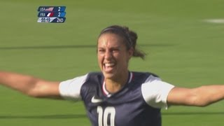 USA 4-2 France - Women's Football Group G | London 2012 Olympics