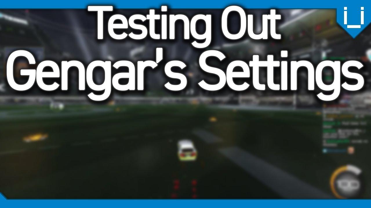 Testing Gengar's Insane Camera Settings