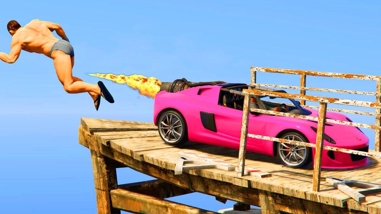 TOP 50 FUNNIEST FAILS IN GTA 5 (Grand Theft Auto V Funny Mots ...