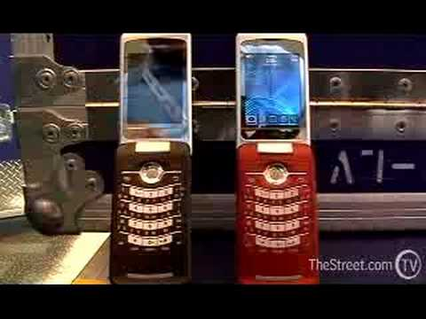 New Blackberry Flip Pearl Phone