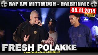RAP AM MITTWOCH: 05.11.14 BattleMania Halbfinale (3/4) GERMAN BATTLE