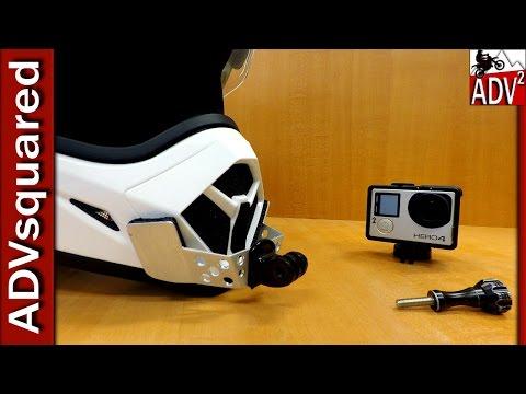 How To: Custom GoPro Motorcycle Helmet Chin Mount