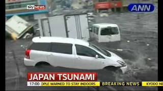 Sky News: Live at Five - Japan Earthquake - Day 2