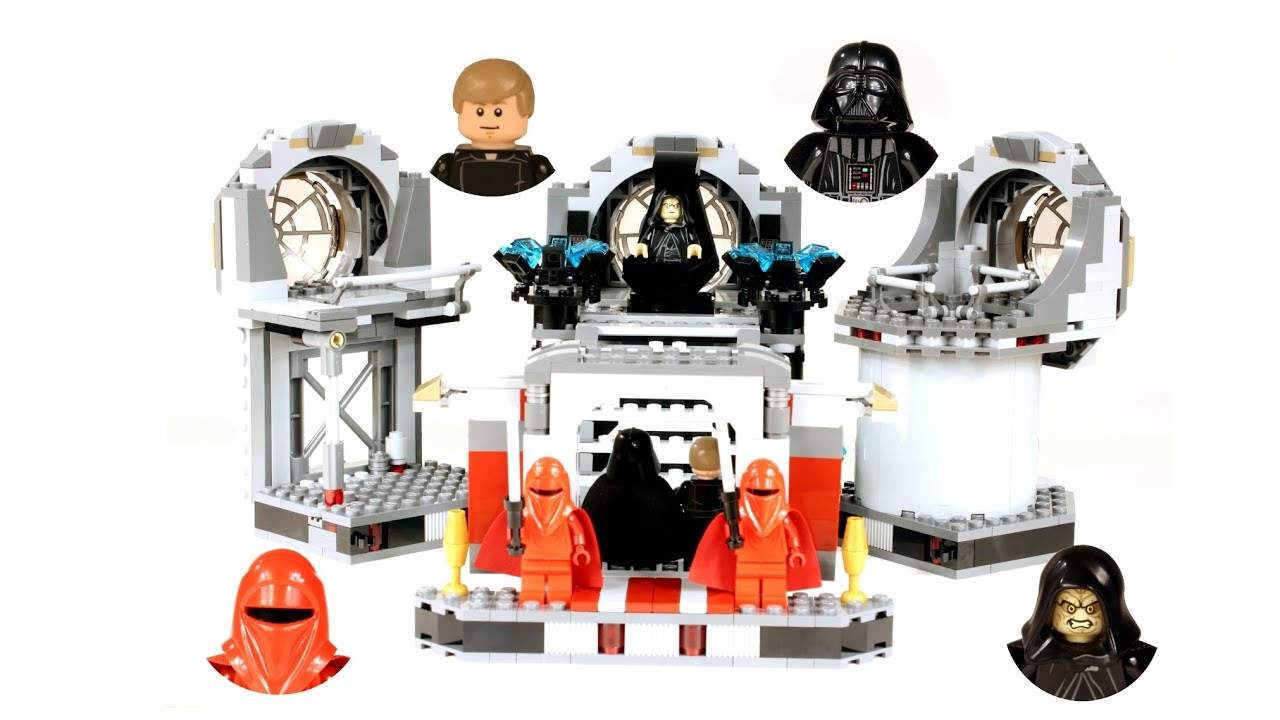 Lego Star Wars Death Star Final Duel Review Lego Loft Youtube