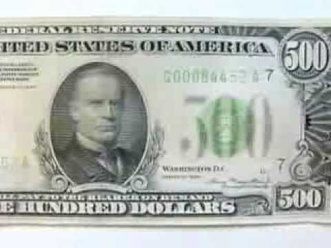 84452 1934 $500 Dollar Bill Chicago Light Green Seal HD